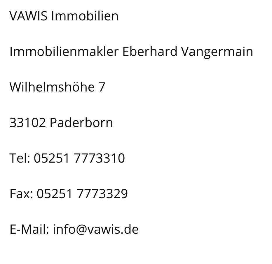 Impressum Vawis.de